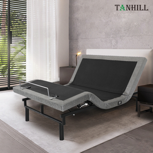 Electric Massage Adjustable Platform Bed Base